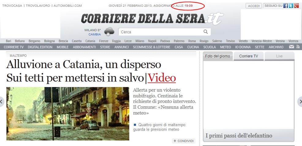 Allagamenti a catania emergenza24emergenza24 for Scantinati in california