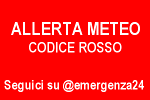 Allerta meteo - Codice Rosso