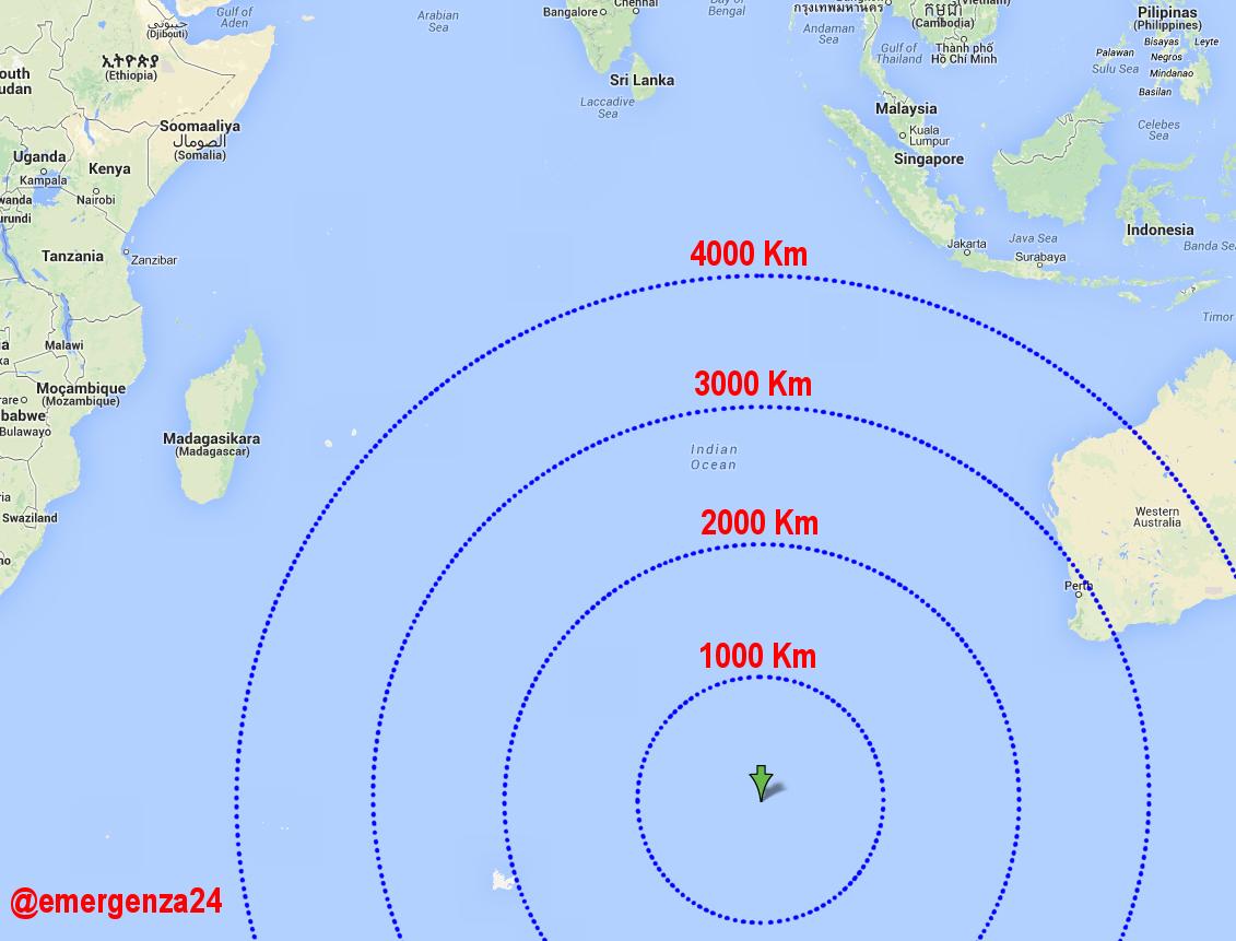 Mappa del punto di ricerca