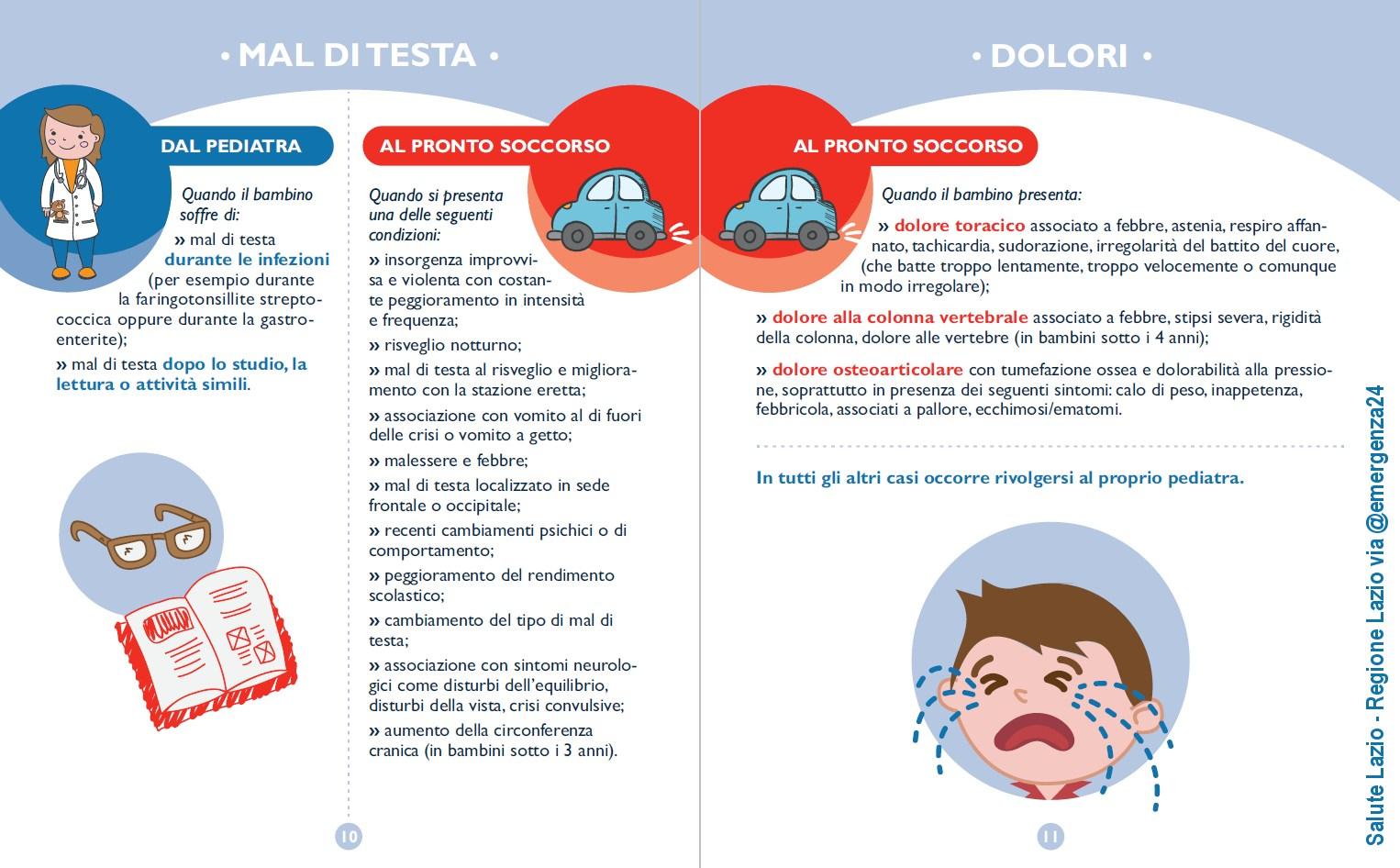 emergenza pediatrica - guida per genitori - 06