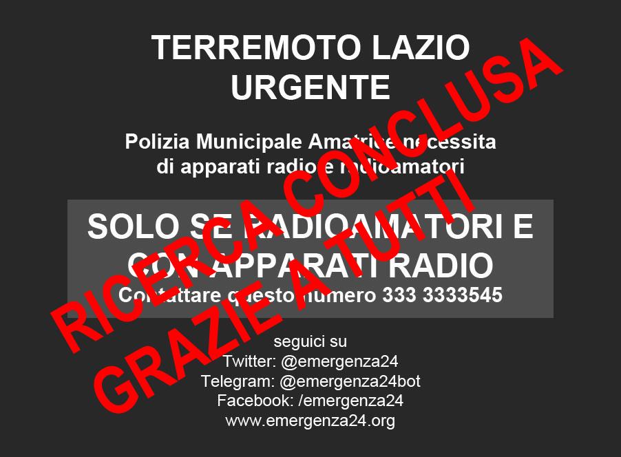 CONCLUSO - terremoto_lazio_radioamatori