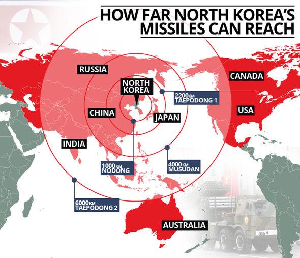 Risultati immagini per nuclear corea